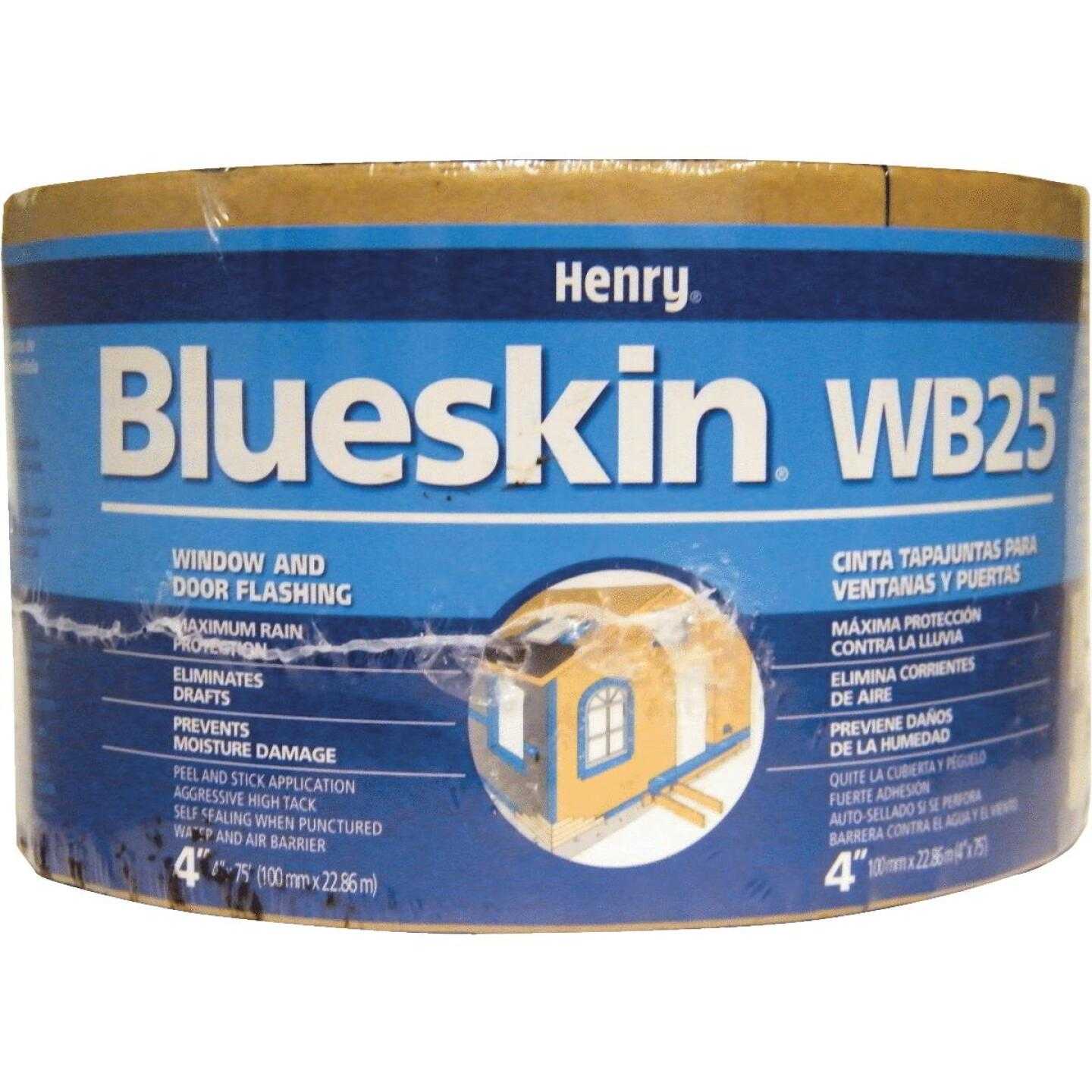 Henry Blueskin WB25 4 In. X 75 Ft. Window Wrap & Flashing Tape Image 1