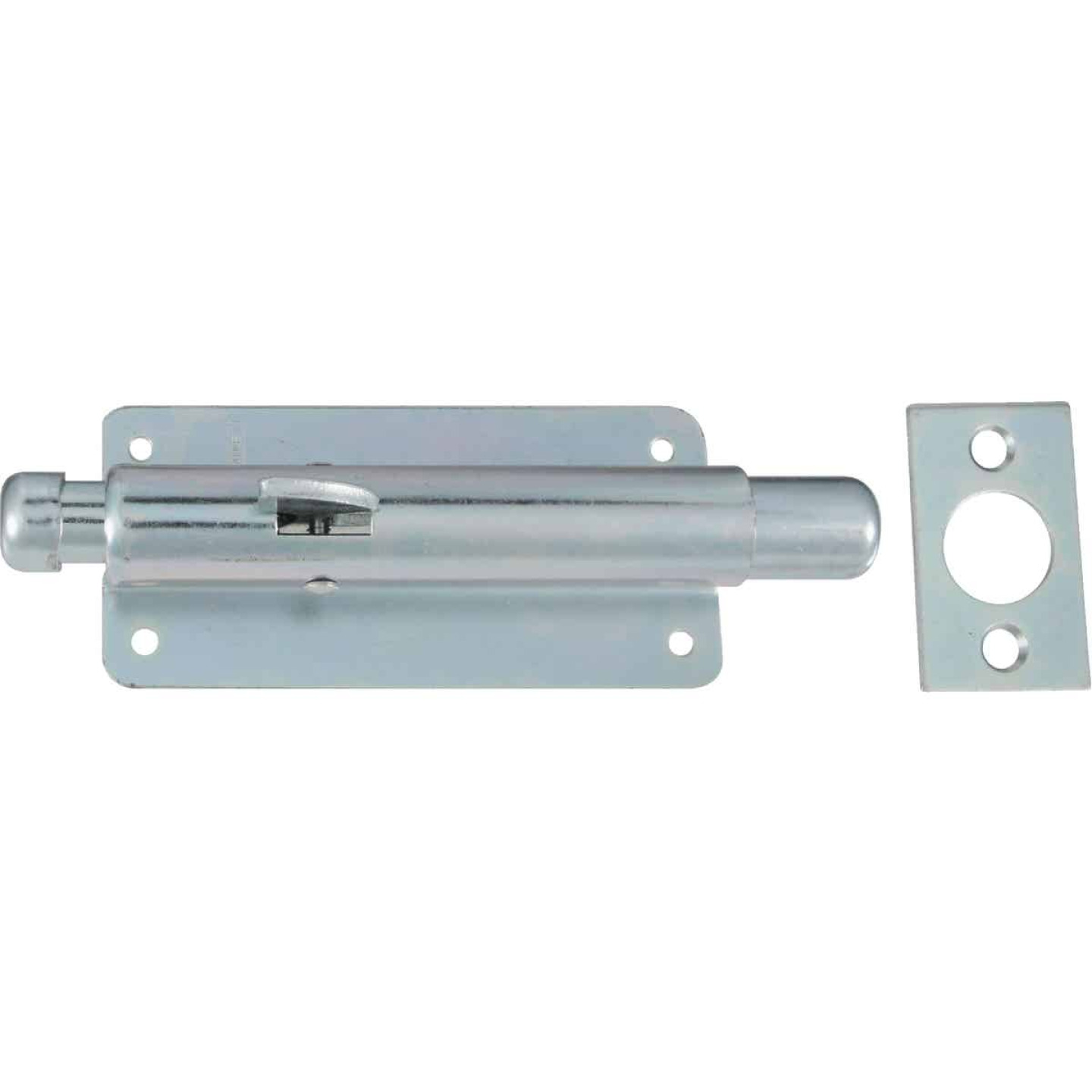 National Zinc Steel Door Foot Bolt Image 1