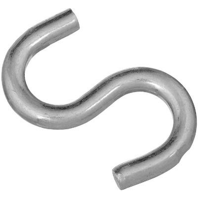 National 2-1/2 In. Zinc Heavy Open S Hook