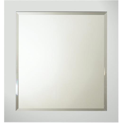 Bertch Lighthouse Gray 28 In. W x 30 In. H Framed Vanity Mirror