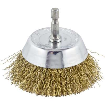 Do it 3 In. Fine Drill-Mounted Wire Brush