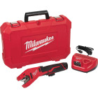 Milwaukee M12 12 Volt Lithium-Ion Copper Cordless Pipe Cutter Kit Image 11