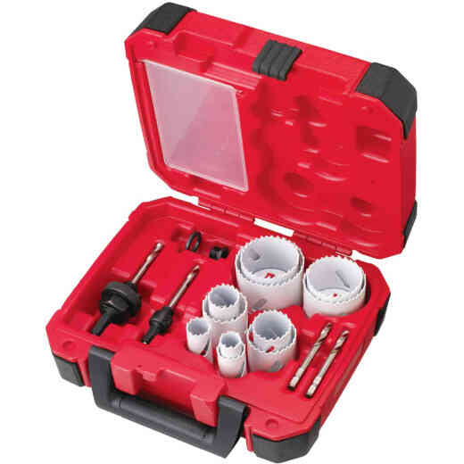 Milwaukee Ice Hardened Bi-Metal General Purpose Hole Saw Set (15-Piece)