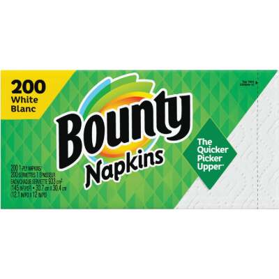 Bounty Quilted Paper Napkins (200 Count)