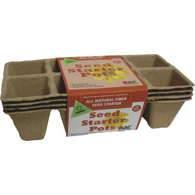 NK 2-1/4 In. W. Square Peat Pot Strips (32-Pack)